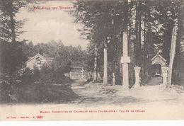 Cp , 54 , BADONVILLER , Maison Forestière Et Chapelle De La Chapelotte , Vallée De Celles - Autres Communes