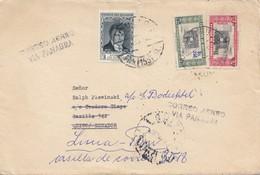 Bolivia/Bolivien: La Paz To Quito-Ecuador-Readressed Lima: Aero Via Panagra - Bolivia