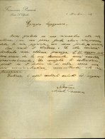 45 PORTO S. ELPIDIO 1922 , FARMACIA PENNESI,  LETTERA INTESTATA - Italia