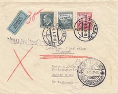 Tschecheslowakei: 1937: Luftpost Prag Nach Berlin - Czechoslovakia