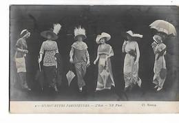 Silhouettes  Parisiennes     -  L,Eté   -  C. 1910 - Mode