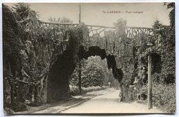 Carte Postale - Belgique - Bruxelles - Laeken - Pont Rustique (SV5989) - Laeken