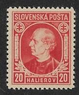 Slovakia 1939,Hlinka Issue,Scott # 28,VF-XF MNH**OG (AD-St) - Slovakia