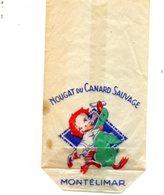 Montélimar. Ancien Sachet Nougat Du Canard Sauvage. - Publicidad