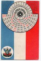 Carte Postale à Système : CALENDRIER DIAMANT  Jusqu'à 1914 (avec Un Disque Tournant)  (PPP15444) - Cartoline