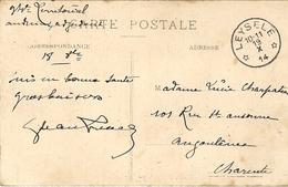 1919- C P A De OOST-CAPELLE ( Intérieur De L'Eglise ) En F M OblitL Bureau Secondaire De LEYSELE - Cartas