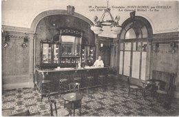 FR66 FONT ROMEU - Mtil 18 - Le Grand Hôtel - Le Bar - Animée - Belle - Frankrijk