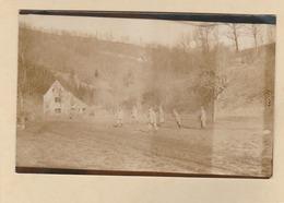 Carte Photo : Village De Wailly. - Région Pas-de-Calais. - 6 Soldats Dans Un Champ. - France