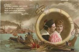 FANFAISIE MARINE LOT N° 25 - Postcards