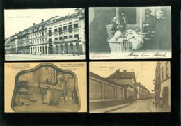 Beau Lot De 60 Cartes Postales De Belgique  Bruges      Mooi Lot Van 60 Postkaarten Van België  Brugge - 60 Scans - 5 - 99 Cartes