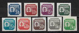 Slovakia 1940-41,Scott # P20-P30 VF Mint LH*OG (NS-1) - Slovakia