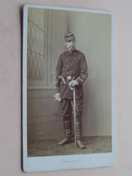 Militair / Soldat Français / French Soldier > Aout 1876 ( Photo CDV - VINMER St. Quentin Aisne - Detail Voir Photo ) ! - War, Military