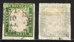 ITALIA REGNO - 1861 - EFFIGIE DEL RE VITTORIO EMANUELE II - 5 CENT - USATO - Used