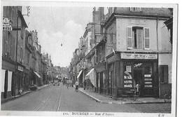 BOURGES N 511 RUE D AURON  TABAC PERSONNAGES 1 PLAN DEPT 18 - Bourges