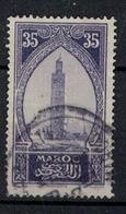 MAROC     N°  YVERT  :   109    OBLITERE     (OB  2/58 ) - Gebraucht