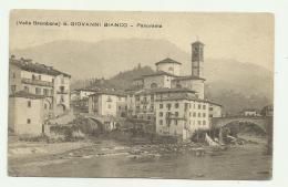 S.GIOVANNI BIANCO - PANORAMA - VIAGGIATA FP - Bergamo