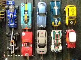 10 NOUVELLES VOITURES SCALEXTRIC AVEC TOUTES PARTIES ET MOTEUR - Circuits Automobiles
