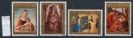 Tchad - Tschad - Chad Poste Aérienne 1972 Y&T N°PA134 à 137 - Michel N°614 à 617 *** - Série De Noël - Tchad (1960-...)