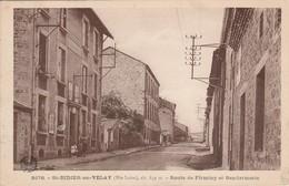 Haute-loire : SAINT-DIDIER-en-VELAY : Route De Firminy Et Gendarmerie - Saint Didier En Velay