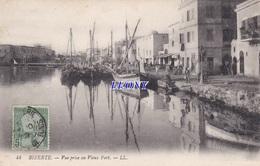 CPA De TUNISIE - BIZERTE - VUE PRISE Au VIEUX PORT N° 44 - Tunisia