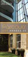 Boulogne Billancourt - Le Parcours Des Années 30 - Dépliants Touristiques