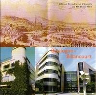 Laissez-vous Conter Boulogne Billancourt - Dépliants Touristiques