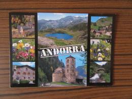 Andorre         Principat D'Andorra      Multivues        Joli Timbre - Andorre