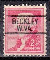 USA Precancel Vorausentwertung Preo, Locals West Virginia, Beckley 812 - Vereinigte Staaten