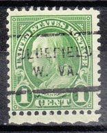 USA Precancel Vorausentwertung Preo, Locals West Virginia, Bluefield 632-712 - Vereinigte Staaten