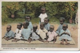 HAITI  UN COIN  ENFANTS MALADE A L HOPITAL   PORT ZU PRINCE - Other