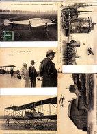 FRANCIA - AEREI - BUON Lotto Di 5 Cart. Primi 900, Viag. E Non - 2018-3-478 - ....-1914: Precursori