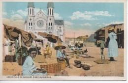 HAITI  UNE IDYLLE AU MARCHE  PORT ZU PRINCE - Other