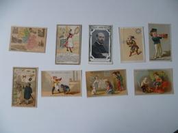 LOT DE  CHROMOS - Trade Cards