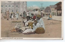 HAITI  UN COIN DU MARCHE  AU MARCHE  PORT ZU PRINCE - Cartes Postales