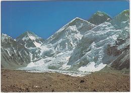 Nepal:  Area Of Mount Everest Base Camp. North Peak (inside Tibet), The West Shoulder, The Summit, Flanks Of Nuptse - Nepal