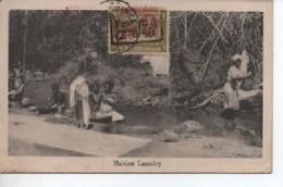 HAITI  HAITIEN  LAUNDRY  OBLITRATION - Cartes Postales