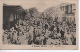 HAITI   A HAITIEN  MARKET - Cartes Postales