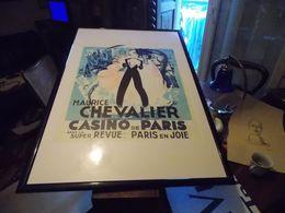 MAURICE CHEVALIER AU CASINO DE PARIS: OEUVRE DE KIFFER - Watercolours