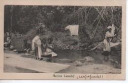 HAITI   A HAITIEN   LAUNDRY - Cartes Postales