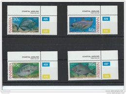NAMIBIE 1994 - YT N° 720/723 NEUF SANS CHARNIERE ** (MNH) GOMME D'ORIGINE LUXE - Namibie (1990- ...)