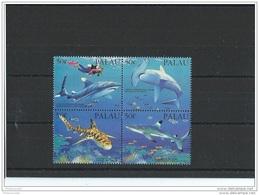PALAU 1993 - YT N° 543/546 NEUF SANS CHARNIERE ** (MNH) GOMME D'ORIGINE LUXE - Palau
