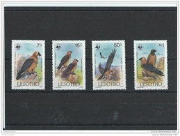 LESOTHO 1986 - YT N° 663/666 NEUF SANS CHARNIERE ** (MNH) GOMME D'ORIGINE LUXE - Lesotho (1966-...)