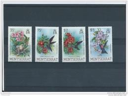 MONTSERRAT 1983 - YT N° 517/520 NEUF SANS CHARNIERE ** (MNH) GOMME D'ORIGINE LUXE - Montserrat
