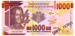 GUINEA 1000 FRANCS 2017 Pick New Unc - Guinea