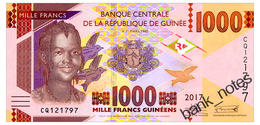 GUINEA 1000 FRANCS 2017 Pick New Unc - Guinee