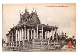 00107-LE-CAMBODGE-PNOM-PENH-La Pagode Royale - Cambodge