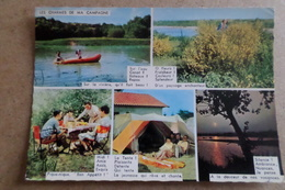 MARVAL-MILHAGUET - Camping Caravaning - Le Grand Lac ( 87 Haute Vienne ) - France