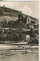 Bingen V. 1963  Burg Klopp Mit Den Rhein Und Dampfer  (1627) - Bingen