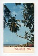 Cote D'Ivoire: Abidjan, Carte Mignonnette, Meilleurs Voeux (18-3156) - Ivory Coast