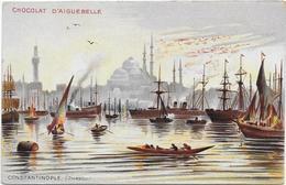 CPA - CHOCOLAT D'AIGUEBELLE - CONSTANTINOPLE (STAMBOUL) - Turquie